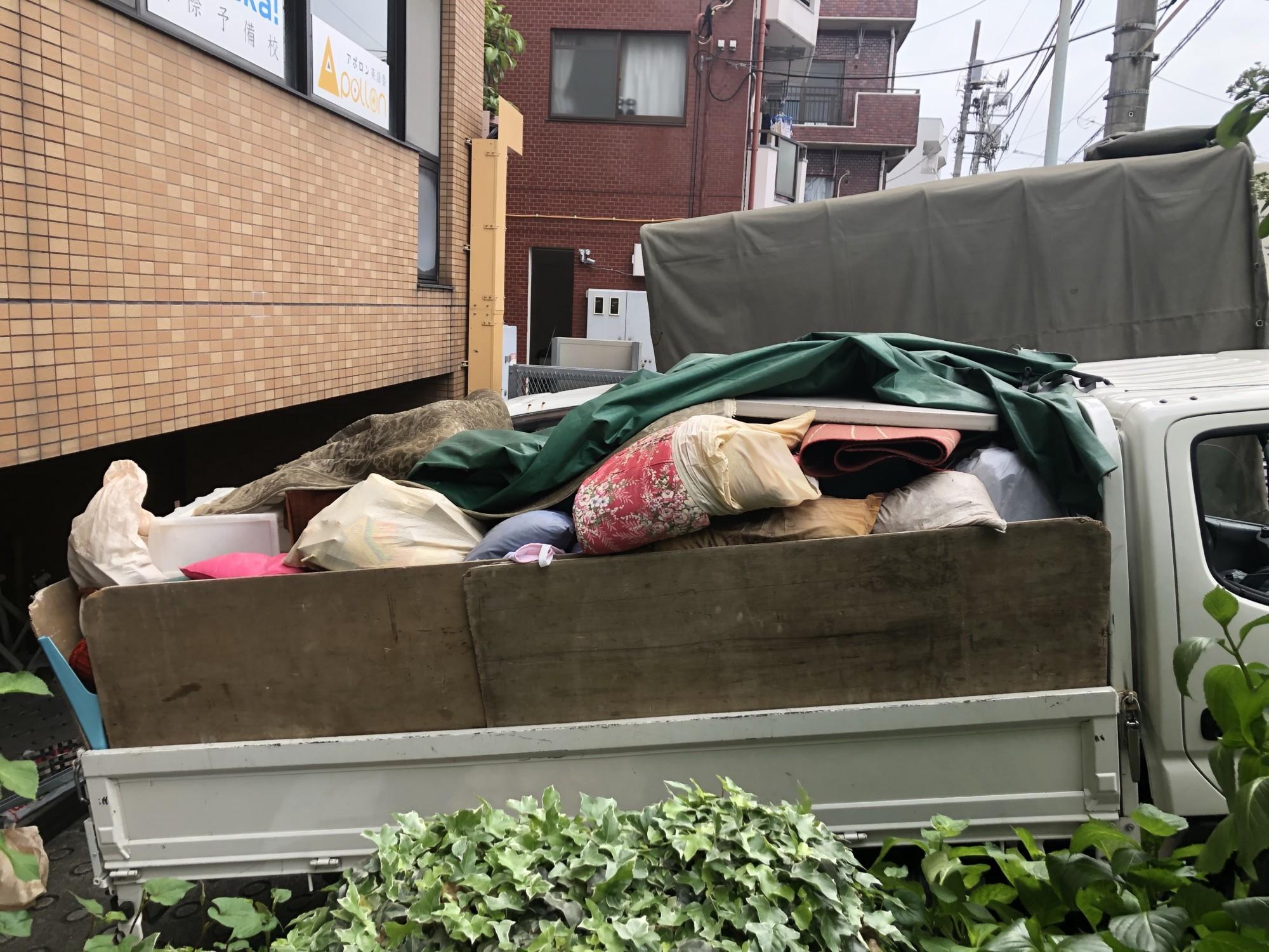 板橋区常盤台 ビル不用品回収(2日目)